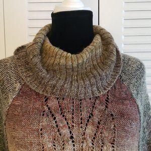 1X Short Sleeve Dress Barn Colorful Sweater